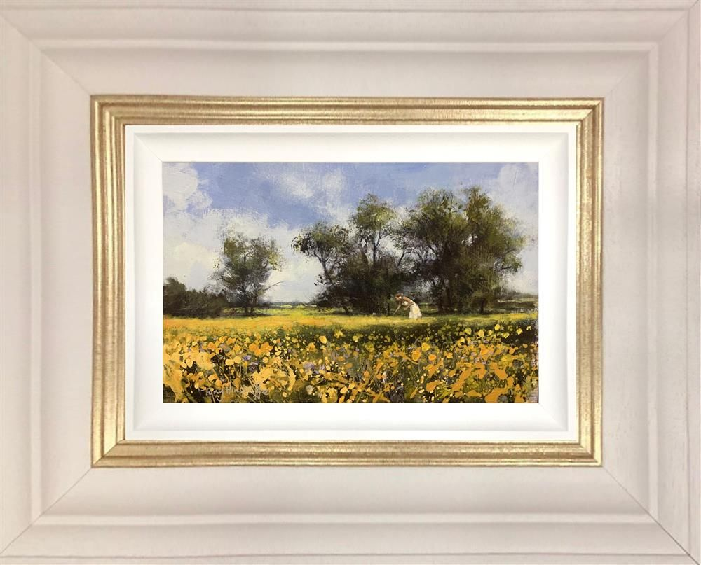 Tony Hinchliffe - 'Yellow Monday' - Framed Original Art