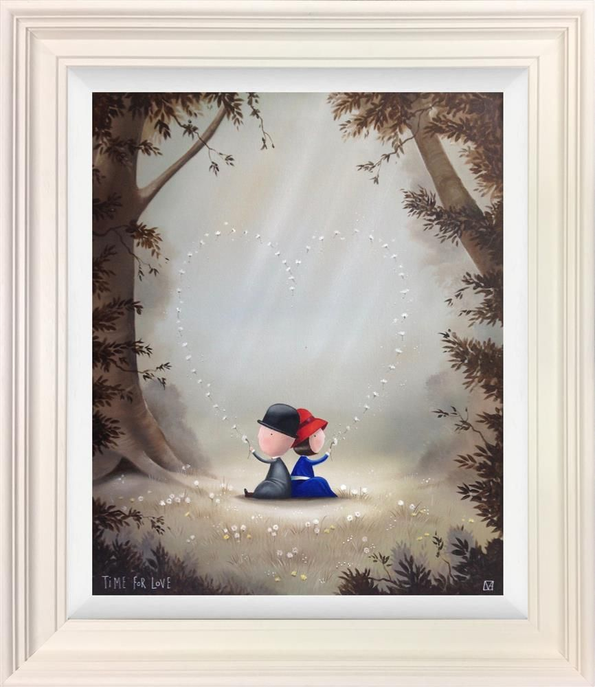 Michael Abrams - 'Time For Love' - Framed Original Art