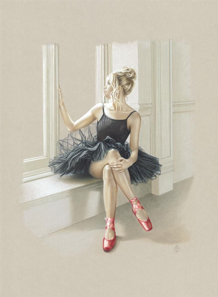 Kay Boyce - Black Swan I - Limited Edition Artwork