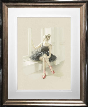 Kay Boyce - 'Black Swan I' - Limited Edition Art