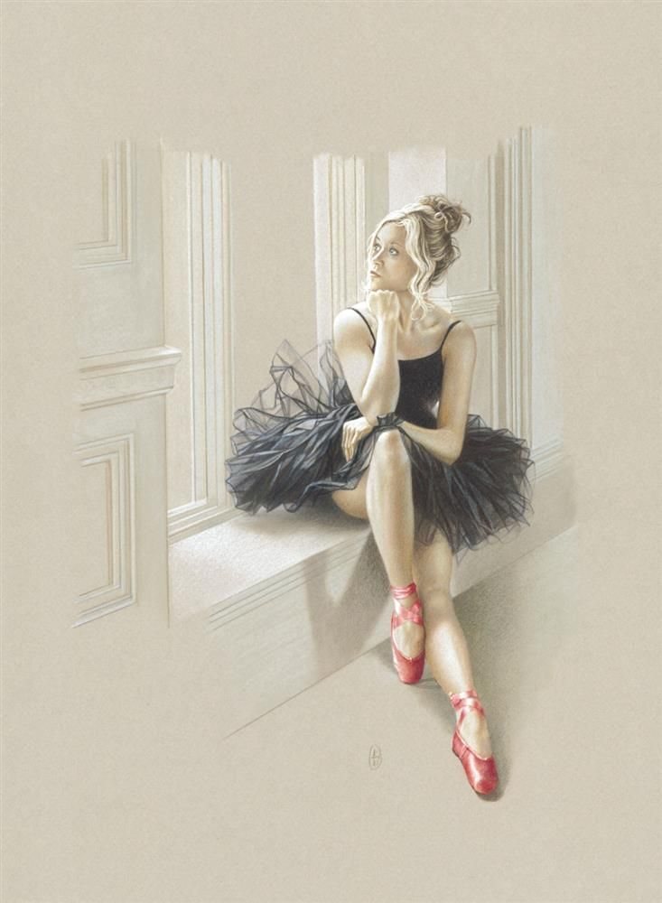 Kay Boyce - 'Black Swan II' - Limited Edition Art