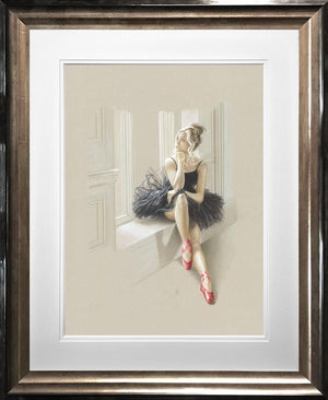Kay Boyce - Black Swan II - Limited Edition Artwork