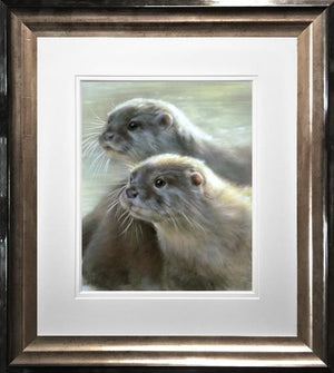 Vivien Walters - 'Otters' - Limited Edition Art