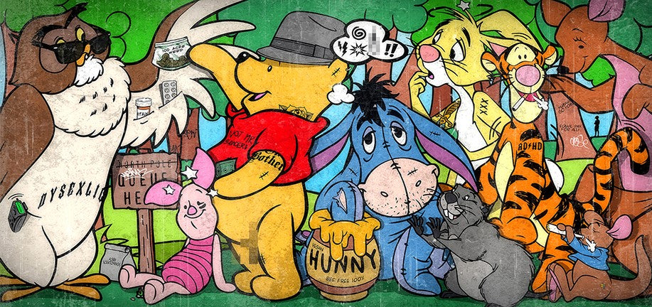 JJ Adams - 'Hundred Acre Weed' - Limited Edition Print