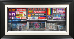 JJ Adams - 'Bye-Gone Shopping Centre' - Limited Edition Print & Original