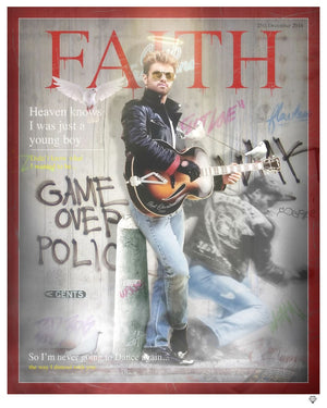 JJ Adams - 'Faith' (George Michael Magazine Cover) - Limited Edition Print