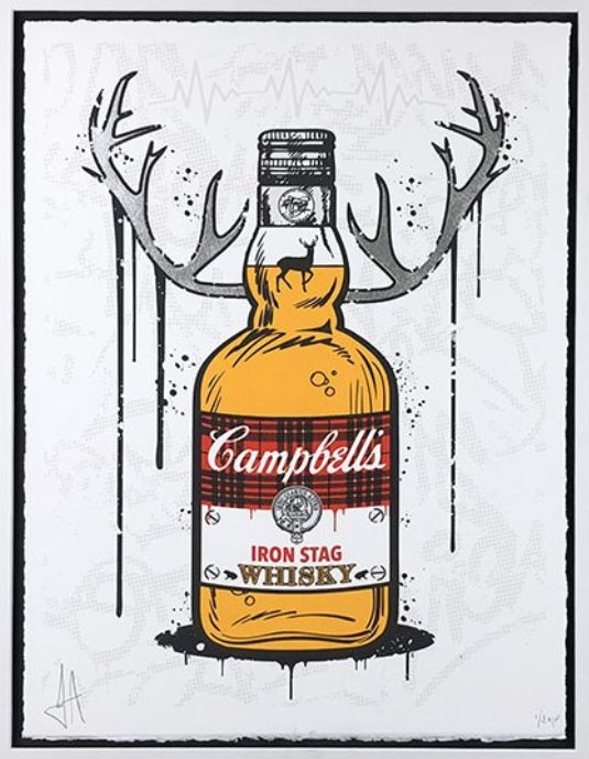 JJ Adams - 'Iron Stag Whiskey' - Limited Edition Print