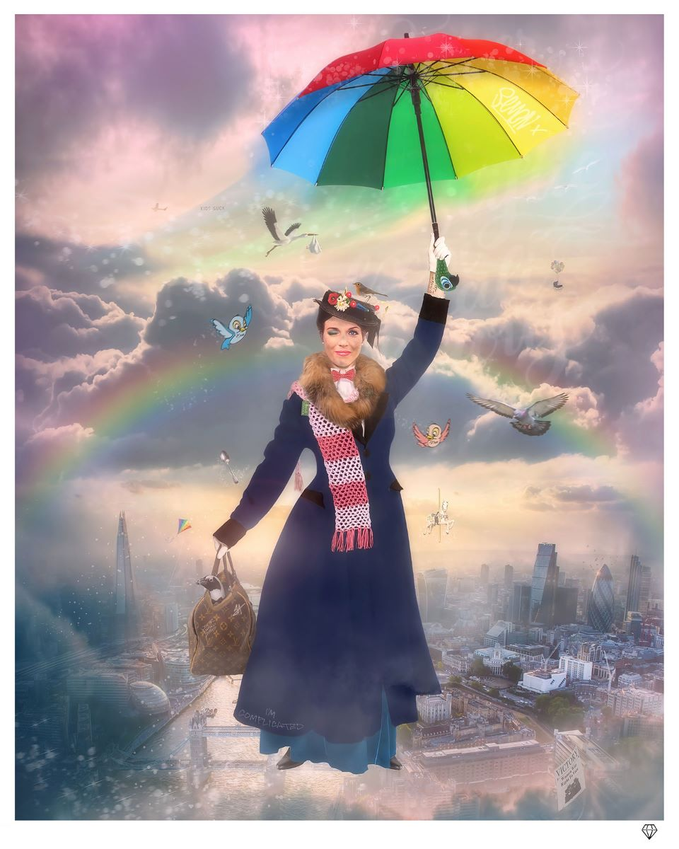 JJ Adams - 'It's Mary That We Love' (Mary Poppins) - Limited Edition Print