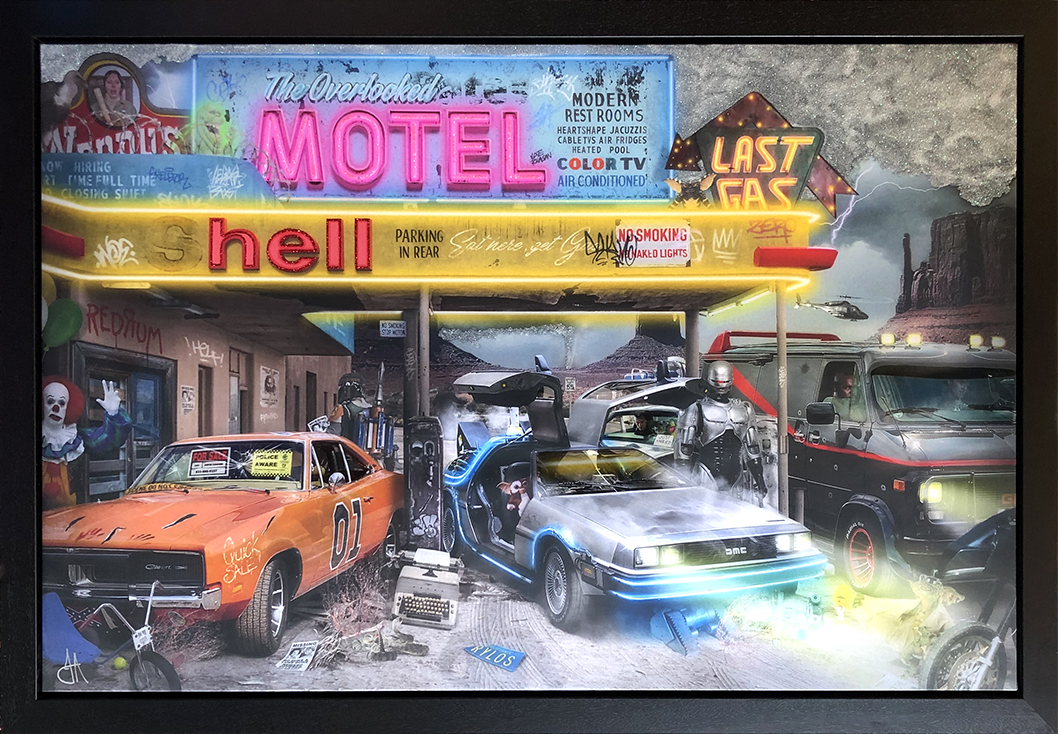 JJ Adams - 'Last Gas' - Limited Edition Print & Original