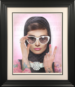 JJ Adams - 'Peace, Love & Audrey' (Colour) - Limited Edition Print & Original