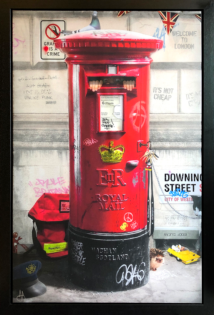 JJ Adams - 'Postman Patrick' - Limited Edition Print & Original