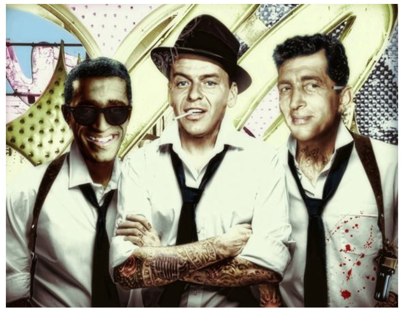 """Rat Pack Tattoo"" by JJ Adams (colour limited edition print) - Artist Proof (AP) available"