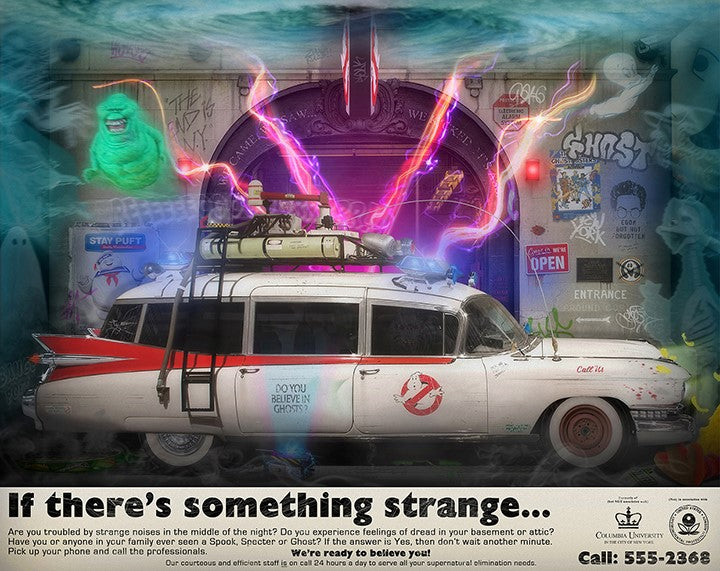JJ Adams - Something Strange... - Limited Edition Print