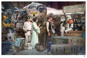 JJ Adams - 'Move Along' (Star Wars) - Limited Edition Print