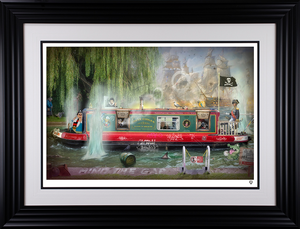 JJ Adams - 'Wind in the Willows' - Limited Edition Print & Original