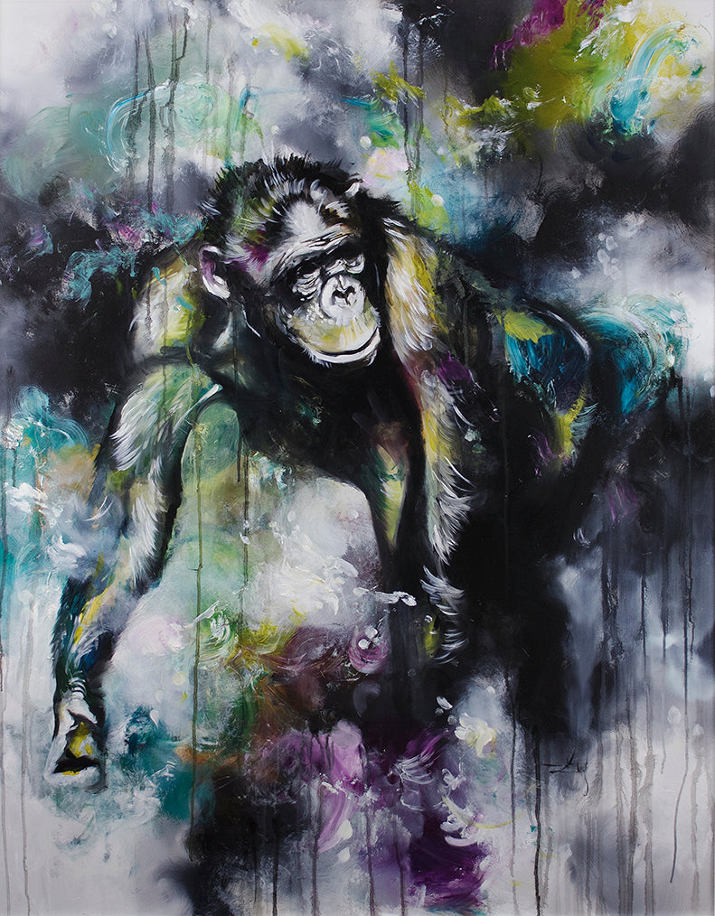 """Alpha"" by Katy Jade Dobson (limited edition print)"