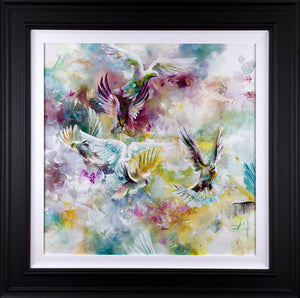 Katy Jade Dobson - 'Organza' - Original Oil Painting