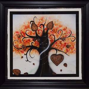 """Autumn (Love & Energy)"" by Kealey Farmer (FRAMED limited edition print)"