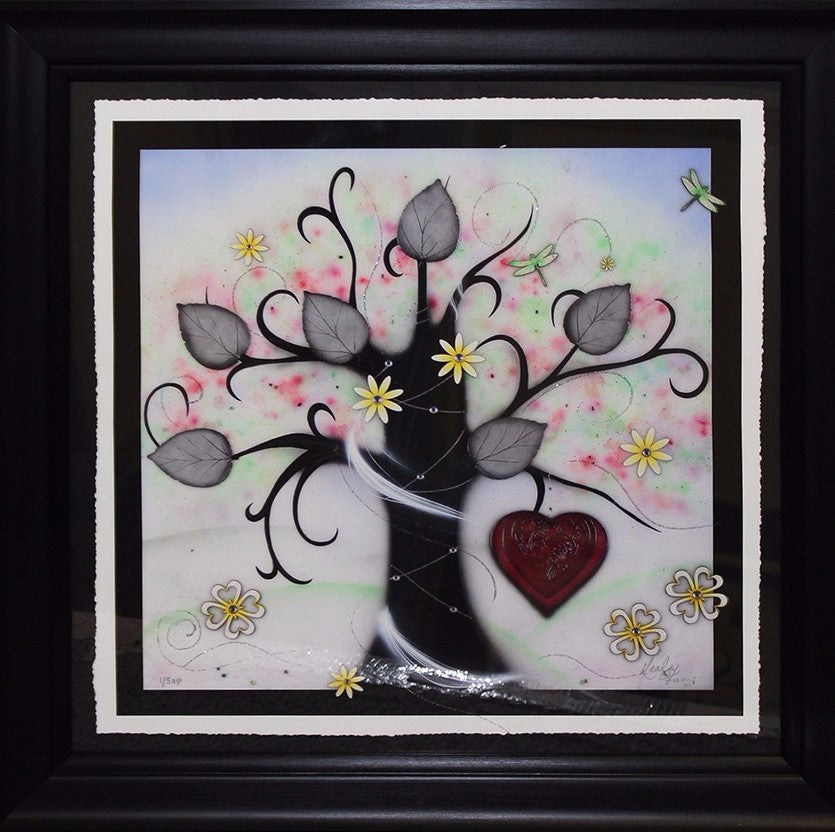 """Spring (Love & Energy)"" by Kealey Farmer (FRAMED limited edition print)"
