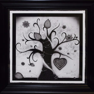 """Winter (Love & Energy)"" by Kealey Farmer (FRAMED limited edition print)"