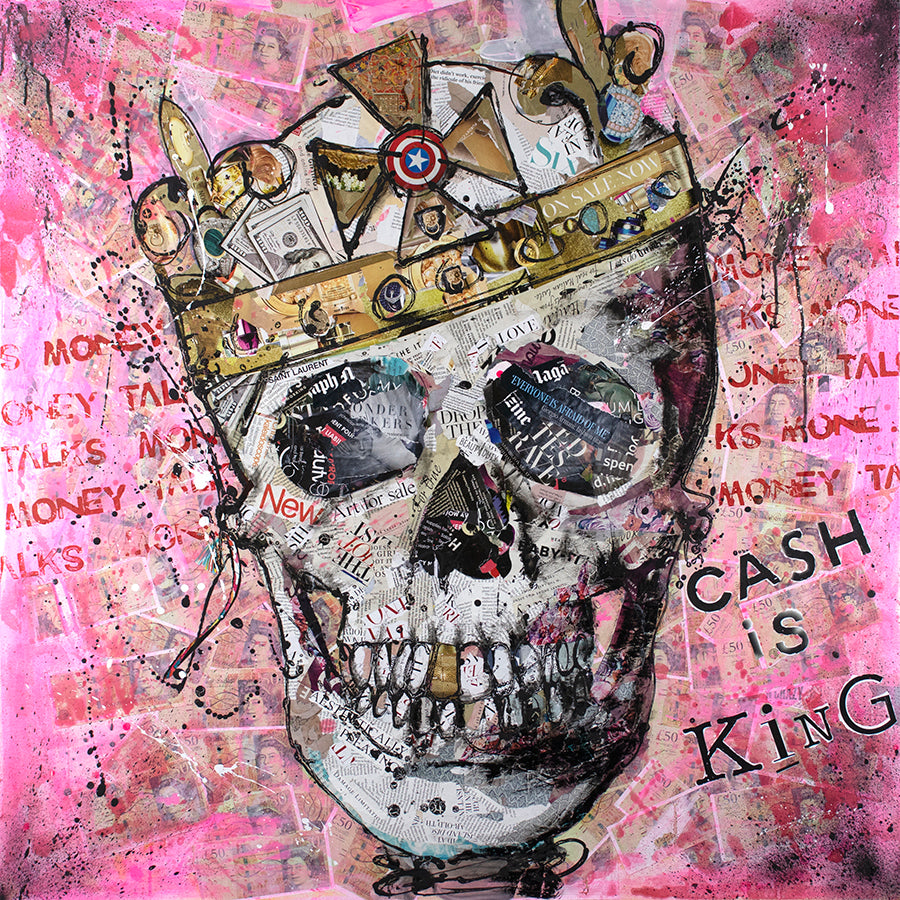 Keith McBride - 'Cash is King' - Limited Edition Art