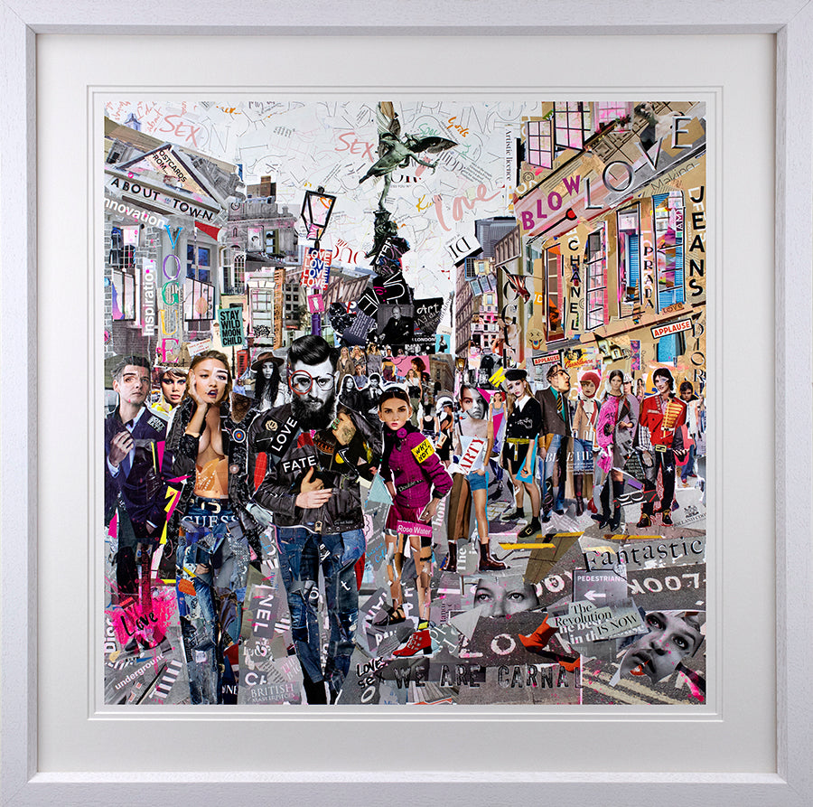 Keith McBride - 'Controlled Population' - Limited Edition Print