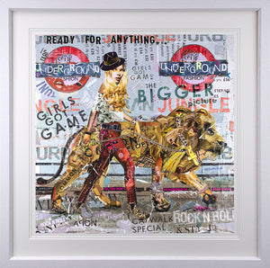 Keith McBride - 'Girl's Got Game' - Limited Edition Print