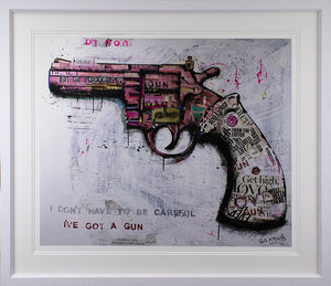 Keith McBride - 'I Don't Have To Be Careful' - Limited Edition Print