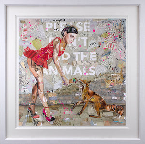 Keith McBride - 'Please Don't Feed The Animals' - Limited Edition Print