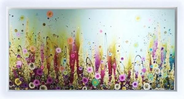 Leanne Christie - Fields of Gold - Framed Original Artwork