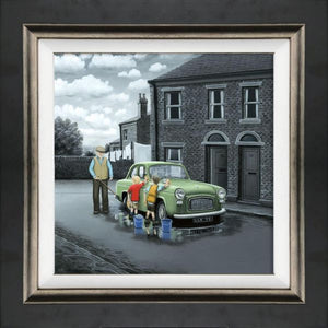 Leigh Lambert - 'Don't Forget Them Wheels' - Canvas - Limited Edition Art