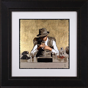 Richard Blunt - 'The Boss - Gold' -   Limited Edition Artwork