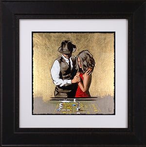 Richard Blunt - 'In It To Win It - Gold' -  Limited Edition Artwork