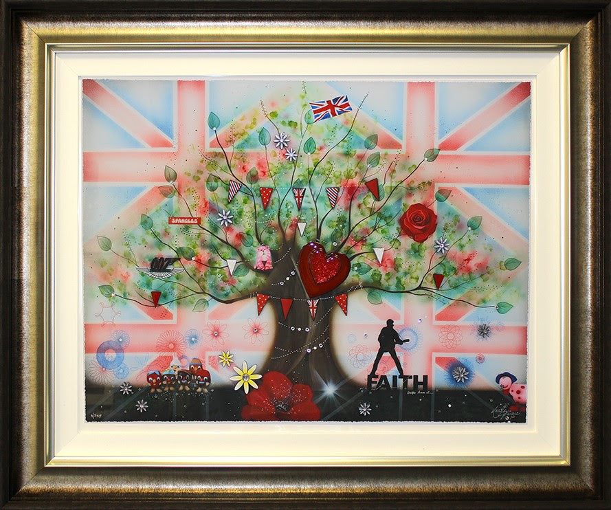 Kealey Farmer - 'Memories of Brit Kid' - Limited Edition Artwork