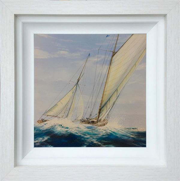 Dale Bowen - 'Off She Sails' - Original Art