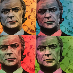 Paul Karslake FRSA - Michael Caine 4 Up - Limited Edition Print