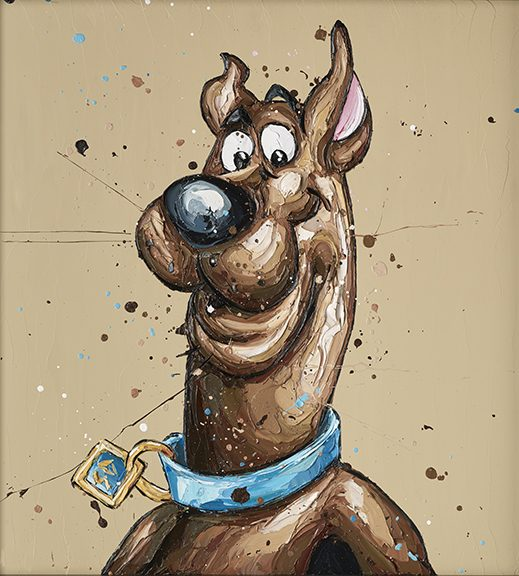 """Scooby Doo"" by Paul Oz (limited edition)"