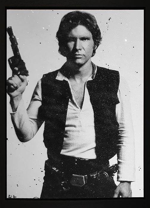 Paul Oz - 'I Know' (Han Solo) - Limited Edition Canvas
