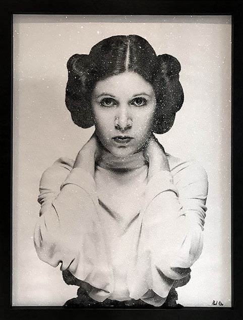 """I Love You"" (Princess Leia) by Paul Oz (Limited Edition Canvas)"