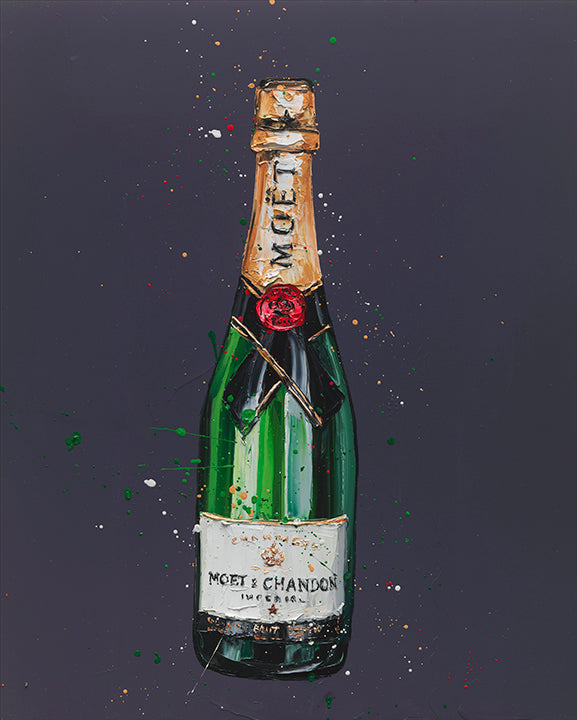 Paul Oz - 'Vintage' (Moet) - Limited Edition Art