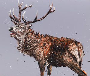 """Monarch of the Glen"" by Paul Oz (limited edition print)"
