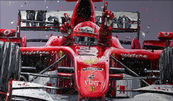 """Schumi Last Win"" by Paul Oz (limited edition)"