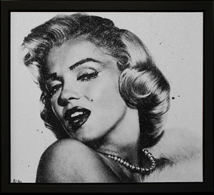 """Imperfection Is Beauty"" (Marilyn Monroe) by Paul Oz (Limited Edition Canvas)"