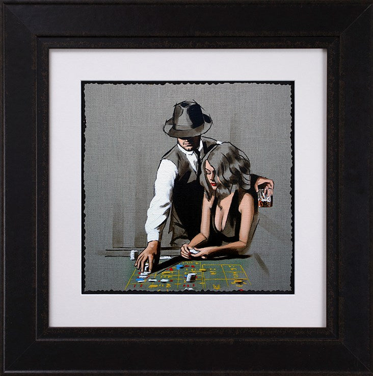 Richard Blunt - 'High Rollers - Original Sketch' -  Limited Edition