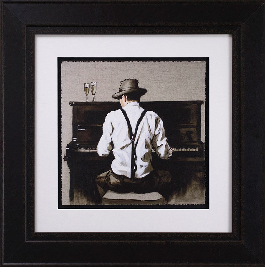 Richard Blunt - 'Piano Man - Sketch' - Limited Edition