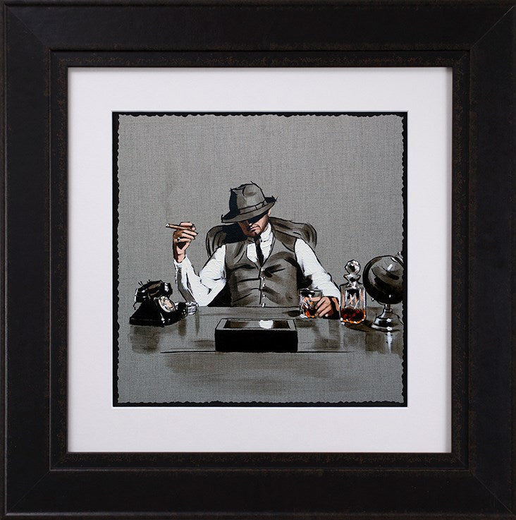 Richard Blunt - 'Self Made Man - Sketch' - Limited Edition