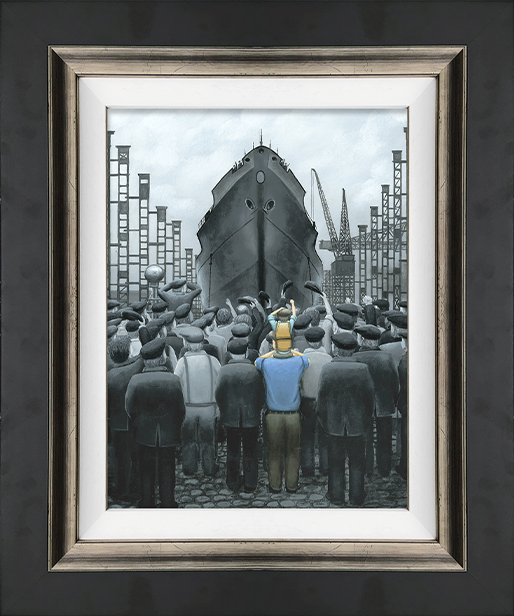Leigh Lambert - 'The Ship that Dad Built' - Canvas Limited Edition Art
