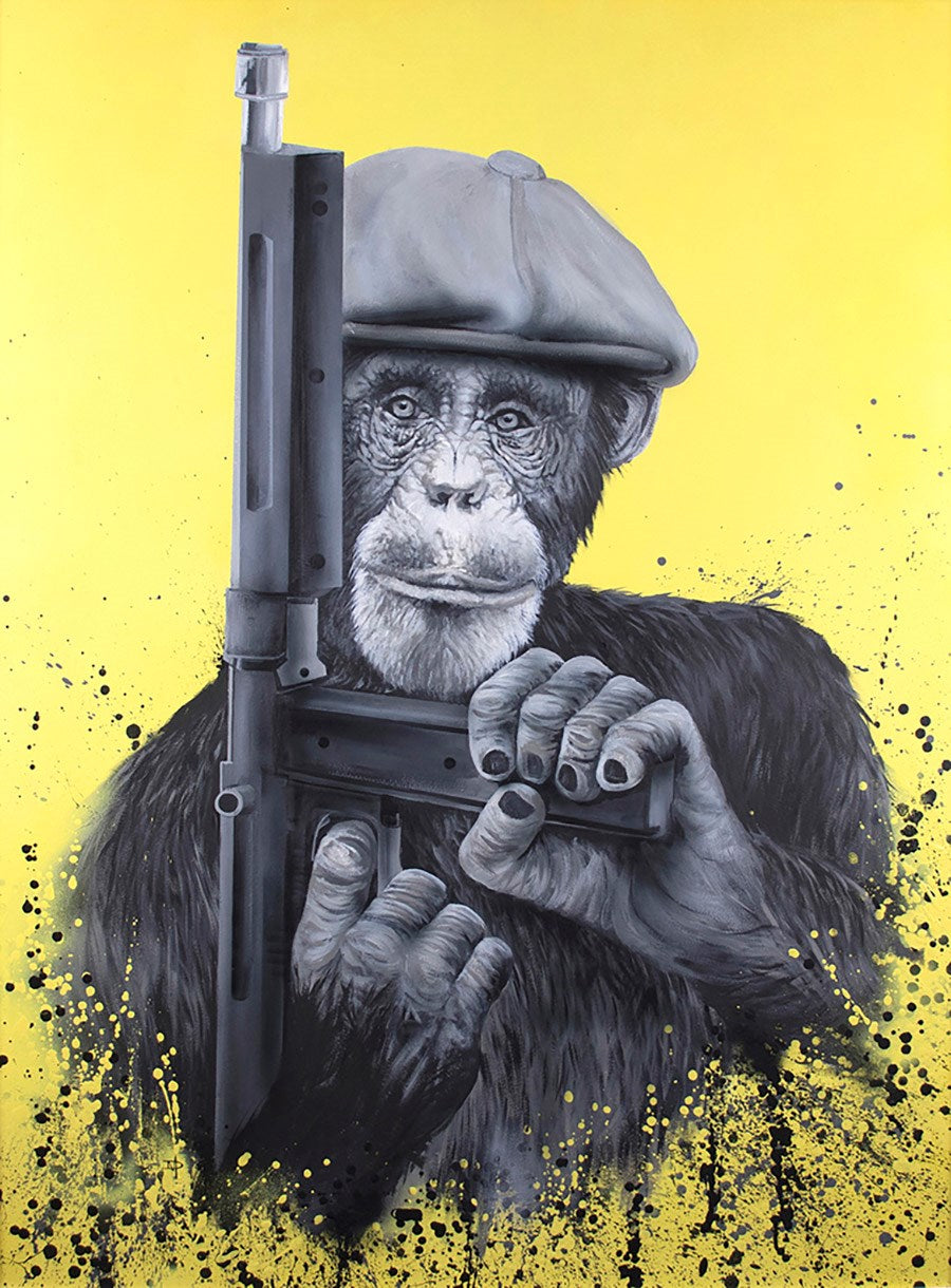 Dean Martin - 'Peaky Primate' - Limited Edition Art