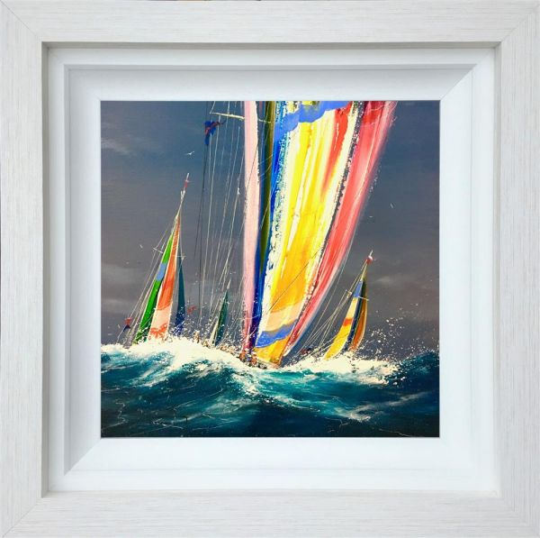 Dale Bowen - 'The Yellow Sail' - Original Art
