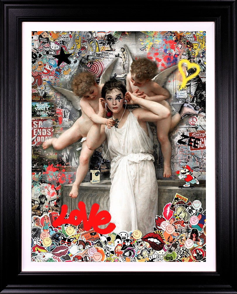 Zee - 'Love' (Audrey Hepburn) - Limited Edition Art